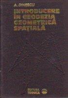 Introducere geodezia geometrica spatiala