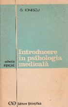 Introducere in psihologia medicala