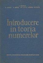 Introducere teoria numerelor
