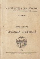 Introducere in topologia generala
