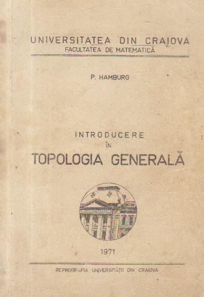 Introducere in topologia generala