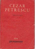 Intunecare, Volumul I (Editie 1962)