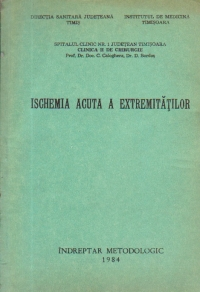 Ischemia acuta a extremitatilor - Indreptar metodologic