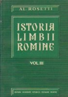 Istoria limbii romine, Volumul al III-lea - Limbile slave meridionale (sec VI - XII)