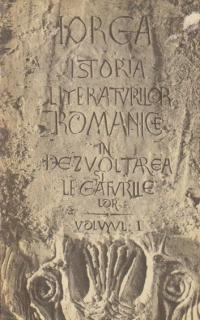 Istoria literaturilor romanice in dezvoltarea si legaturile lor, Volumul I - Evul mediu
