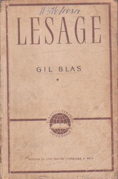 Istoria lui Gil Blas de Santillana, Volumul I