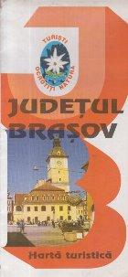 Judetul Brasov - Harta turistica