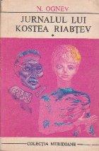 Jurnalul lui Kostea Riabtev, Volumul I - Grupa a treia (Anul scolar 1923 - 1924)