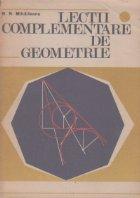 Lectii complementare de geometrie