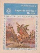 Legende istorice. Basme