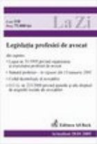Legislatia profesiei avocat (actualizat 2005)