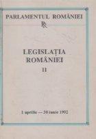 Legislatia Romaniei 1 aprilie - 30 iunie 1992, Volumul al II-lea