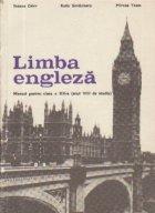 Limba engleza - Manual pentru clasa a XII-a (anul VIII de studiu)
