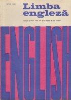 Limba engleza. Manual pentru anul III liceu (anul III de studiu)