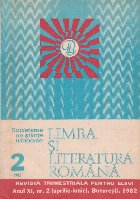 Limba si literatura romana, Nr. 2/1982 - Revista trimestriala pentru elevi