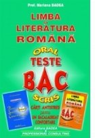 Limba si literatura romana. Teste BAC - oral, scris