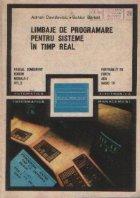 Limbaje de programare pentru sisteme in timp real