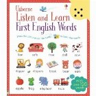 Listen and Learn First English Words. Carte sonora, cu peste 120 cuvinte de invatat in limba engleza