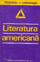 Literatura americana - dictionar cronologic