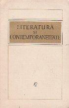 Literatura contemporaneitate