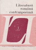 Literatura romana contemporana, I - Poezia