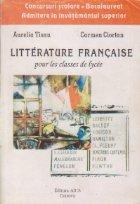 Litterature francaise pour les classes
