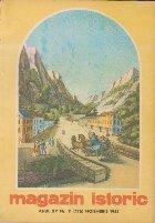 Magazin istoric, Nr. 11 - Noiembrie 1981