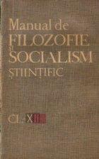 Manual de filozofie si socialism stiintific, Clasa a XII-a