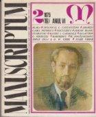 Manuscriptum 2/1975 (19) Anul VI