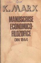 Manuscrisele Economico-Filosofice din 1844