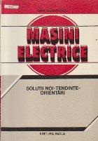 Masini electrice Solutii noi Tendinte