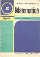 Matematica Algebra Manual pentru clasa