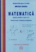 Matematica - Manual pentru clasa a X-a, Trunchi comun