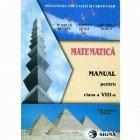 Matematica Manual pentru clasa VIII