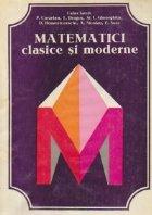 Matematici clasice si moderne, Volumul al III-lea