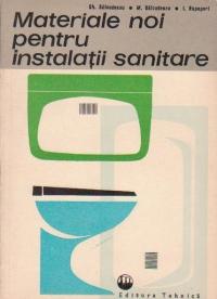 Materiale noi pentru instalatii sanitare