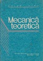 Mecanica Teoretica, Editie 1980