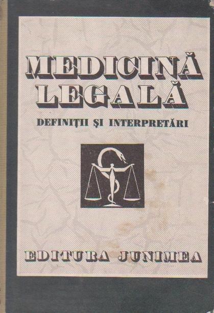Medicina Legala - Definitii si Interpretari
