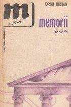 Memorii, Volumul al III-lea