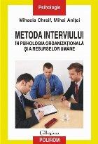 Metoda interviului în psihologia organizațională și a resurselor umane