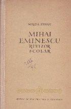 Mhai Eminescu revizor scolar