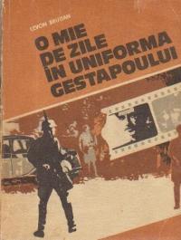 O mie de zile in uniforma Gestapoului
