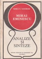 Mihai Eminescu - Analize si sinteze
