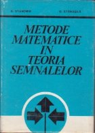 Modele matematice in teoria semnalelor