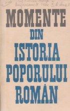 Momente din istoria poporului roman