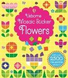 Mosaic sticker flowers
