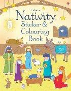 Nativity sticker and colouring book