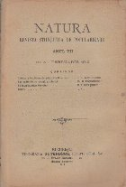 Natura - Revista Stiintifica de Popularizare, Nr. 5 - Februarie 1912