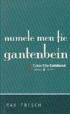 Numele meu fie Gantenbein