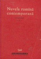 Nuvela romina contemporana- culegere, Volumul al III-lea